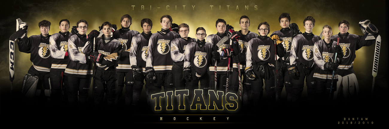 Tri-City Titans Bantam Hockey Team 2018-19